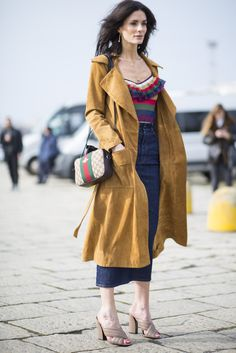 As MFW ends, take a look at the best streetstyle from Italy's #fashion capital via our fashion week hub. From rainbow stripes to chic cross-body bags, this city has it all. Search 1034269 to add this Gucci bag to your wishlist.