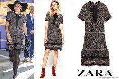 Dutch Queen Maxima wore a new dress by ZARA