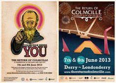 Zoocreative Design Derry - Our Work - The Return of Colmcille