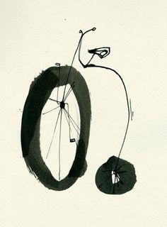 BICICLETTA by Ekaterina Koroleva, via Behance