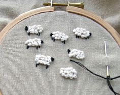 How to Sew the French Knot Embroidery Stitch - Answers.com