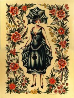 tattoo artists and caz williamson image