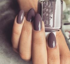 Merino cool by Essie is a perfect grayish purple...Fall/winter color Nail Design, Nail Art, Nail Salon, Irvine, Newport Beach