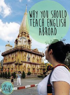 There are so many reasons to teach English abroad, but here sums up some of the top reasons. Some will most certainly convince you. ******************************************* Teach English as a second language Teaching Overseas, Teaching Jobs, Teach English To Kids, Teaching English, Traveling Teacher, Esl Lesson Plans, Travel Jobs, Work Abroad, English Online