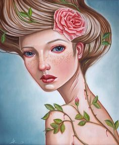 #Surreal Paintings by Audrey Pongracz