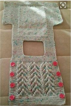 Baby Knitting Patterns For Kids Baby Vest Baby Knitting Patterns, Knitting For Kids, Crochet For Kids, Baby Patterns, Simple Crochet, Easy Knitting, Crochet Patterns, Knitting Projects, Cable Knitting
