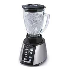New shop Oster BVCB07-Z00-NP0 7-Speed Blender. Bring it on. All Metal Drive System for Lasting Durability. Chop and Grind with Stainless Steel. Versatile. Pre-programmed settings - including time and function - provide one touch operation, so you can let the blender do the thinking. Any way you slice it. Ice cubes? Seven speeds and high and low pulse options give you amazingly precise control at the touch of a button. Stylish. Beautiful form and incredible function. Skilled. Oster Blender, Hand Blender, Kitchen Stand Mixers, Grinding Coffee Beans, Kitchen Blenders, Blender Models, Vegetable Smoothies, How To Make Smoothies, Best Blenders