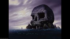 skull rock peter pan | skull rock background information feature films peter pan return to ...