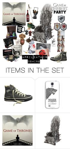 """""""Game Of Thrones Party"""" by hopelovesfashion ❤ liked on Polyvore featuring art and GameOfThrones"""