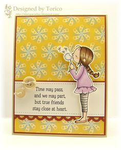 Created by Torico Using Blossom by Blossom TSG stamps.
