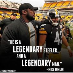 PITTSBURGH STEELERS~ Tomlin & Troy