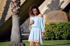 Sweet Perdition: Outfit | Off-shoulder & crochet