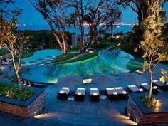 Capella Singapore Terrace Pools