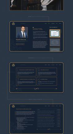 Yuri Yunusov - lawyer (Web site) on Behance App Design, Logo Design, Law Firm Website, Cleaning Companies, Website Design Layout, Ui Web, User Interface Design, Illustrator Tutorials, Business Website