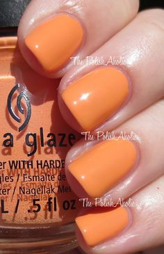 China Glaze Summer 2014 Off Shore Collection Swatches  If In Doubt, Surf It Out