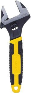 Stanley 90-947 6-Inch MaxSteel Adjustable Wrench Ratcheting Wrench Set, Adjustable Wrench, Torque Wrench, Steel Material, Tool Box, Toolbox, Tool Cabinets