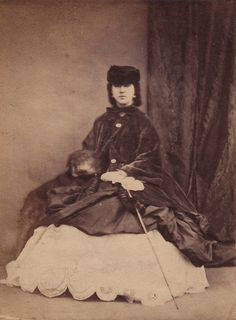 Lady Elisabeth Bryan. Early 1860's.