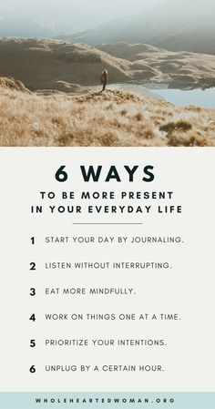 The Importance Of Presence 6 Ways To Be More Present In Your Everyday Life Personal Growth Development Mindfulness Lifestyle Tips Life Advice Mindfulness Techniques, Mindfulness Activities, Mindfulness Training, Mindfulness Quotes, Mindfulness Therapy, Mindfulness Practice, Self Care Routine, Mindful Living, Slow Living