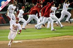 Best Comeback Game and Team In The History of Baseball.   Game 6 of 2011 World  Series 2b478d864c2