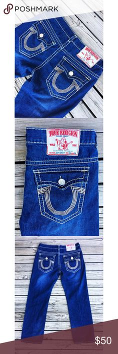 Men's True Religion Jeans True religion brand jeans. Section: Joey Super T. Men's 38x34. Good condition, no stains or tears. High fashion designer jeans/pants. True Religion Jeans Bootcut