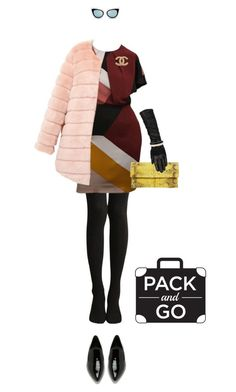 """Milan chic fur!"" by andyshopaholic ❤ liked on Polyvore featuring moda, Fendi, Alexander Wang, Primary, Wilsons Leather, Kate Spade, Chanel, women's clothing, women i female"