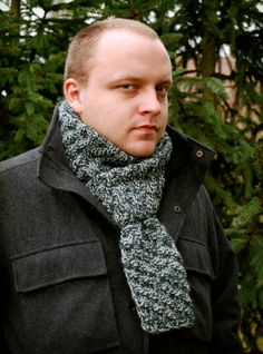 Detective's Scarf - free pattern