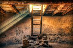 The Pueblo Cermonial Room | Aztec Ruins National Monument | Aztec | New Mexico | Photo By Anya Rumiantseva