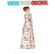 Vogue 2043 Paris Original Designer Pattern by by CherryCorners