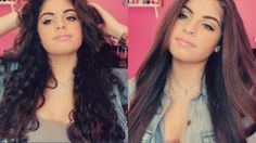 How I Straighten My Hair (Thick Curly Hair)♡| Nazaninxox