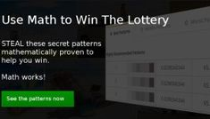 Probability indeed helps you win the lottery. In Lottometrix, no need to calculate. We could help you generate the best lottery numbers. Lucky Numbers For Lottery, Winning Lottery Numbers, Lotto Numbers, Lottery Winner, Winning The Lottery, Pick 3 Lottery, State Lottery, Lottery Book, Irish Lottery