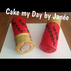 Shotgun shell cakes