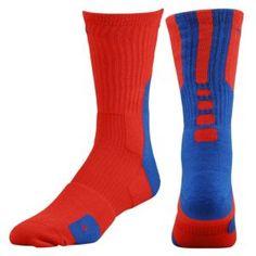 Nike Elite 2.0 Basketball Crew Sock - Men's - Basketball - Accessories - Atomic Green/Gorge Green
