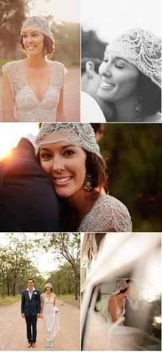 Einzigartiger Haarschmuck  #Hochzeit  #wedding #Braut #Kopfschmuck