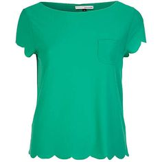 green scallop t (ships to US): ($21)