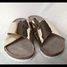 Sandals size 7 Brand new With Tags Brand new with tags sandals by Mossimo size 7 Mossimo Supply Co. Shoes Sandals