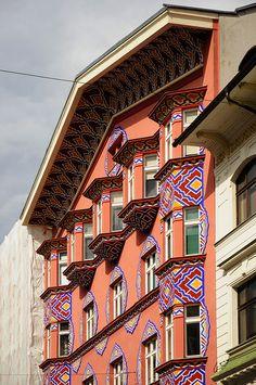Slovenia - Ljubljana - Art Nouveau Building 03 | by Darrell Godliman