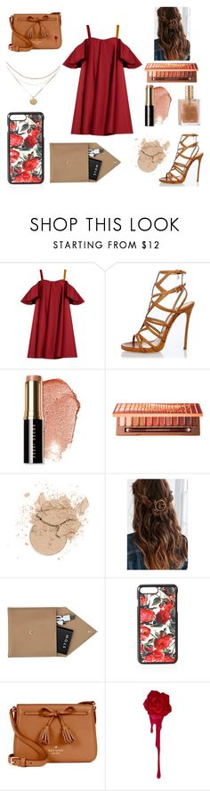 """""""Ring of Fire"""" by nightlight62 ❤ liked on Polyvore featuring Anna October, Dsquared2, Bobbi Brown Cosmetics, Urban Decay, Urban Outfitters, STOW, Dolce&Gabbana and Kate Spade"""