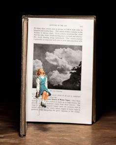 Vintage Book Characters Come Alive in Intriguing Dioramas by Thomas Allen - My Modern Met Thomas Allen, Art Thomas, Libros Pop-up, Cut Out Art, 3d Art, Pop Up Art, Altered Book Art, Science Books, Ways Of Seeing