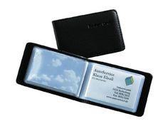 Sigel VZ170 Karten-Mappe f�r 40 Karten, schwarz