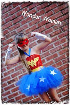 Wonder Woman Costume. $35.00, via Etsy.