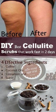 Beauty Care, Beauty Skin, Body Scrub Recipe, Diy Body Scrub, Healthy Skin Tips, Healthy Nutrition, Cellulite Cream, Coffee Cellulite Scrub, How To Exfoliate Skin