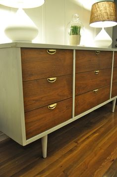 Mid Century Modern Dressers: Not just for clothes. Check out my ideas for media storage with a vintage spin here: http://studiostyleblog.com/2014/01/10/favorite-pins-of-the-day-mid-century-modern-dressers/ …