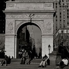 Greenwich Village-Washington Square Park.....One of my favorite places in the world.