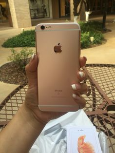 iPhone 6s Plus in Rose Gold
