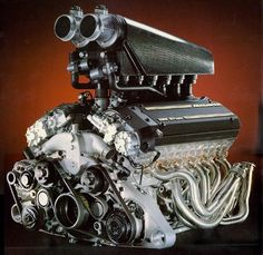 BMW engine used in the McLaren liter, 48 valve, aluminum block and heads, cubic in, 6064 cc Compression Bmw Engines, Used Engines, Engines For Sale, Race Engines, V12 Engine, Motor Engine, F1 Motor, Honda S2000, Bmw V12