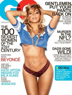 Beyoncé en couverture de GQ 26