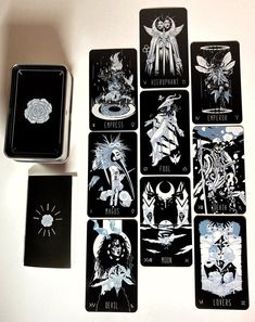 Tarot Cards For Sale, Aleister Crowley, Tarot Card Decks, Witch Aesthetic, Funny Tattoos, Wedding Tattoos, Tarot Spreads, Unique Cards, Oracle Cards
