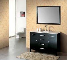 Simple bathroom vanity simple bathroom vanity image of idea modern vanities grey ideas small bathroom vanity Small Bathroom Vanities, Single Sink Bathroom Vanity, Bathroom Images, Wood Bathroom, Bathroom Layout, Simple Bathroom, Bathroom Cabinets, Wood Vanity, Vanity Set