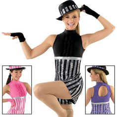 unitard dance costume, could also be made into a skirt Creative Costumes, Cool Costumes, Costume Ideas, Tap Dance, Dance Wear, Ugly Dance, Dance Costumes Tap, Dance Training, Dance It Out