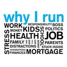 Once it kools I'm gonna start running again. The walking is ok but I really need to run for some of these reasons!